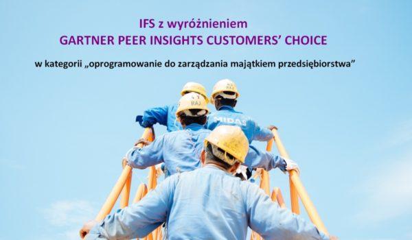 IFS gartner customer choice txt