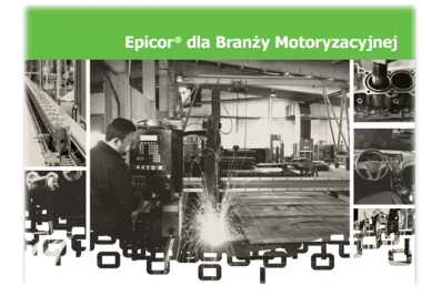 Rozwiązania branżowe Epicor dla firm